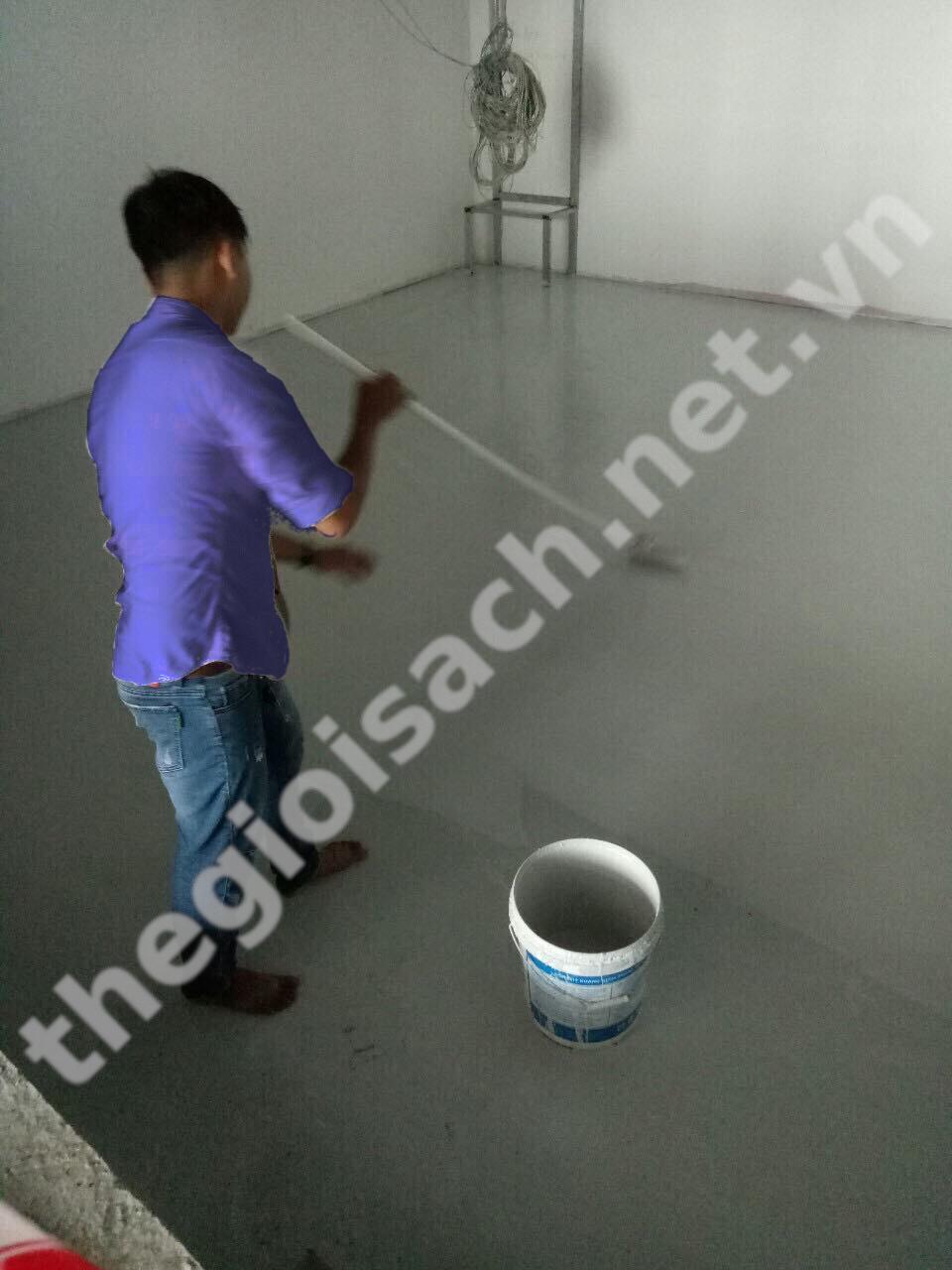 Sơn epoxy tự phẳng - sơn lót