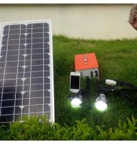 bo phat dien mat troi dc20w ma - Bộ phát điện mặt trời DC20W