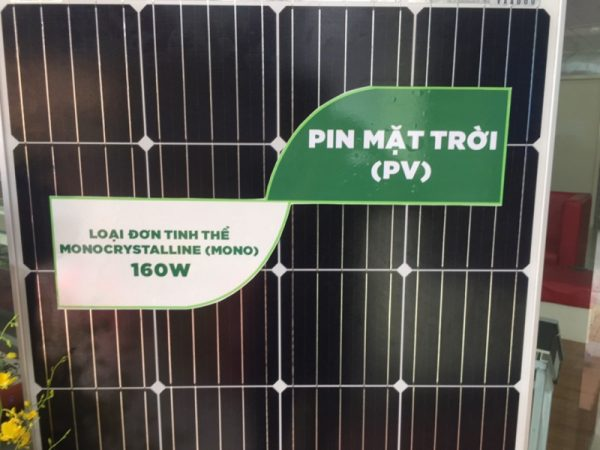tam pin mat troi 160w mono chinh hang 600x450 - TẤM PIN MẶT TRỜI MONO 160W
